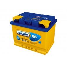 Аккумулятор Аком  65Ah/580 прав.+ /242*177*190/