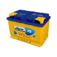 Аккумулятор Аком  75Ah/700 лев.+ /275*177*190/