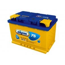 Аккумулятор Аком  75Ah/700 прав.+ /275*177*190/