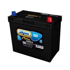 Аккумулятор Аком Asia  50Ah/420 прав.+ (толстые клеммы) /238*129*225/