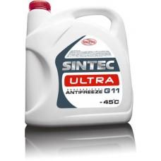 Антифриз SINTEC ULTRA (-45) красный G11   5 кг