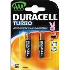 Батарейка AAA LR03 TURBO Duracell (2шт)