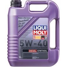 1927 LiquiMoly Синт.мот.масло  Diesel Synthoil 5W-40 CF;B4(5л)