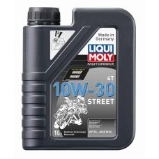 2526 LiquiMoly НС-синт.мот.маслод/4-т.мотоц. Motorbike 4T Street 10W-30 SL;MA-2(1л)