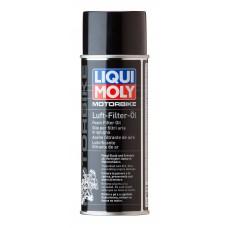 3950 LiquiMoly Масло д/пропитки возд.фильтров  Motorrad Luftfilter Oil (0,4л)