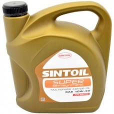 Масло Sintoil 10w40 5л API SG/CD СУПЕР SAE Акция