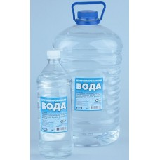 Вода дистилированная (1 л)
