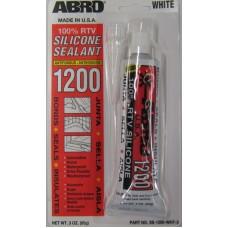 Герметик силиконовый универсальный белый (ABRO) SS1200W-85 85г