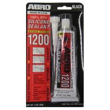 Герметик силиконовый универсальный черный (ABRO) SS1200B-85 85г
