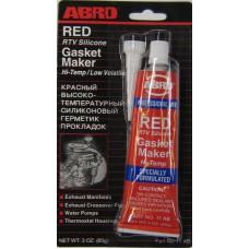 Герметик-прокладка красный (ABRO) 11-AB-C 85г