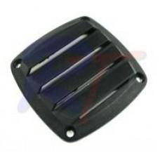 RTA-13534-BK Решетка вентиляционная, черная.