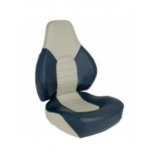 1041631 Мягкое складное сиденье Fish Pro, сине-серое