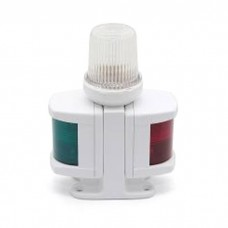 30449 Огонь комбинированный трехцветный 125х85х170 мм, белый корпус