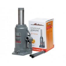 Домкрат бутылочный 32т S (MIN - 285 мм, MAX - 465 мм) (AJ-B-32S)