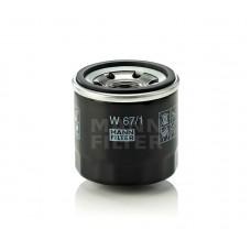 Фильтр MANN-FILTER W67/1