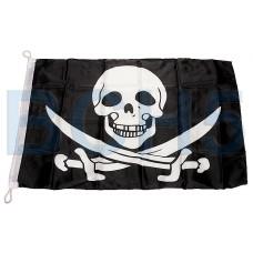 02617-3 Флаг пиратский 50см