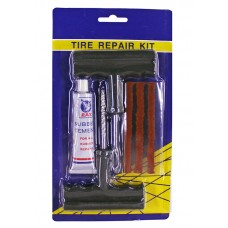 Набор для ремонта б/к шин (жгуты 3шт., шило, игла, клей-активатор)