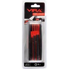 Набор складных шестигранных ключей VIRA в пластиковом держателе