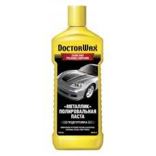 "Полироль кузова паста ""Металлик"" (Doctor Wax) DW8312 300мл"