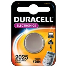 Батарейка CR2025 Duracell (1шт)