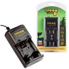 Зарядное устройство для АА, ААА, С, D, 9V (ТРОФИ) TR-600