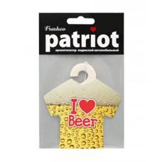 """Ароматизатор подвесной """"Patriot"""" Пиво морской бриз (AZARD)"""