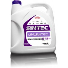 Антифриз SINTEC UNLIMITED (-40) сиреневый (G12++)   5 кг