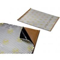 Шумоизоляция (вибро) STP Gold NEW (мастика) полимерный слой (фольга, 2,3 мм) лист 0,35кв.м