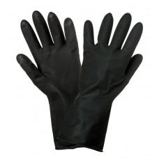 Перчатки латексные (защитные от агрессивных жидкостей) (AWG-LS-10)