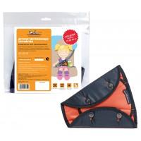 Детское удерживающее устройство, универсальное, цвет черный/оранжевый (AC-HD-01)