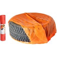Мешки для колес R12-17, комплект 20 шт, размер 100х100 см (AO-PWC-15-03)