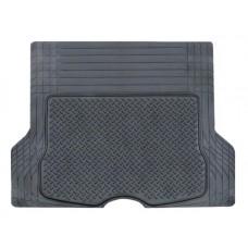 Ковер полимерный в багажник автомобиля универсальный, цвет - черный, размер 133х111см (ACM-RTM-06)