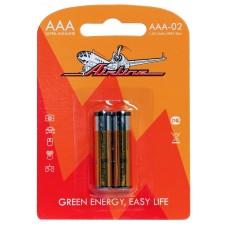 Батарейки LR03/AAA щелочные 2 шт.(AAA-02)