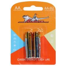 Батарейки LR6/AA щелочные 2 шт.(AA-02)