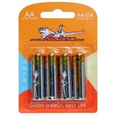 Батарейки LR6/AA щелочные 4 шт.(AA-04)