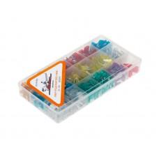 """Предохранители """"мини"""" в пласт.коробке (510 шт. 5-30А) (AFU-M-P510)"""