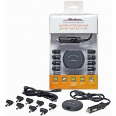 Адаптер автомобильный для ноутбука универсальный 90Вт с USB (ультра компактный) (ACH-NC-03)