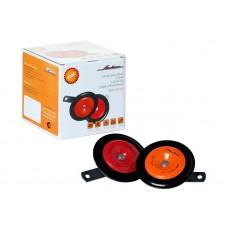 Сигнал дисковый 110мм 315/415Гц 118дБ 12В комплект (AHR-12D-01)
