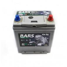 "Аккумулятор ""Bars Asia""  42Ah/350 прав.+ Asia /186*129*220/"