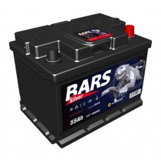 "Аккумулятор ""Bars Silver""  55Ah/480 прав.+ /242*175*190/"
