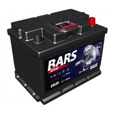 "Аккумулятор ""Bars Silver""  66Ah/590 прав.+ /278*175*190/"