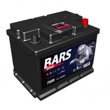 "Аккумулятор ""Bars Silver""  75Ah/620 прав.+ /278*175*190/"