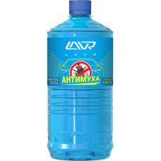 Жидкость бачка омывателя Crystal (LAVR) 1 л Антимуха Концентрат 1:40