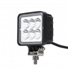 Светодиодный фонарь рабочего света 18W EPSTAR прямоугольный дальний