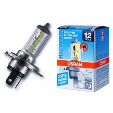 Лампа H4 12V  60/55W P43t (OSRAM) +30% Allseason super