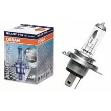 Лампа H4 12V  60/55W P43t (OSRAM) +60% silverstar