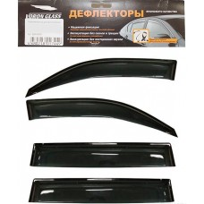 Дефлектор боковых стекол KIA Sportage с 2010г. на скотче 4шт. Voron Glass (AZARD)