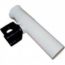C81019 Держатель спининга белый пластмассовый