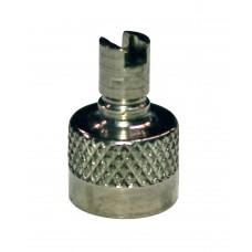 Колпачок золотника металлический с ключом