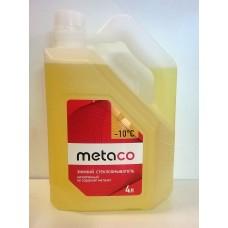 Жидкость бачка омывателя -10C Metaco 4л